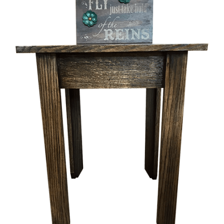 Oak Concealment Night stand