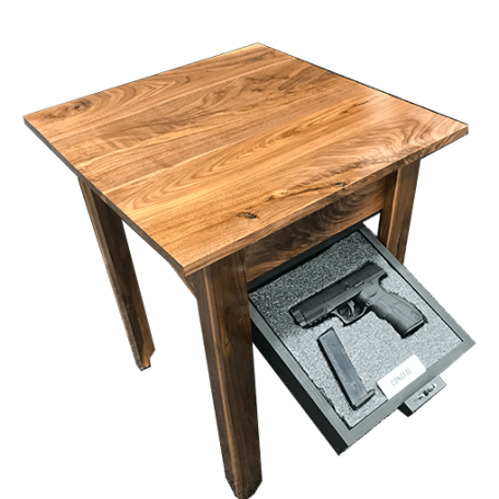 walnut Concealment night stand